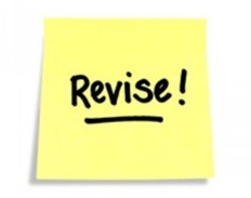 revise post it image
